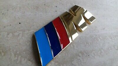 Goldplated Bmw Badge M Sport Grill Badge