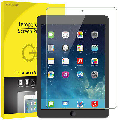 Tempered Glass Screen Protector for Apple iPad 9.7 2017/2018 Air Air 2