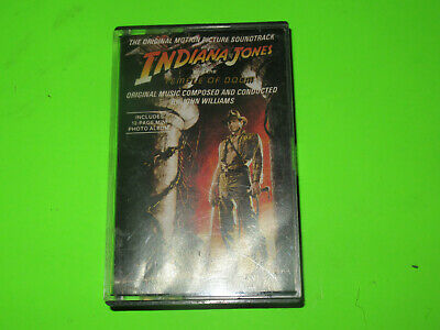 Indiana Jones And The Temple Of Doom  Soundtrack Ost Cassette Tape
