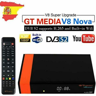 GTMEDIA HD V8 Nova Digital Satellite TV Receiver DVB-S2 Built-in Wifi