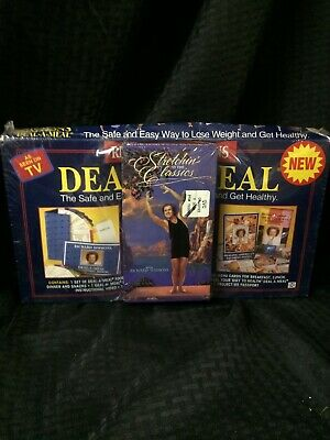 NEW SEALED Vintage Richard Simmons Deal-A-Meal Weight Loss Kit