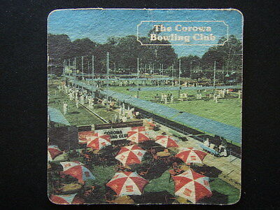 The Corowa Bowling Club Coaster