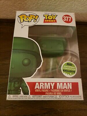 Funko Pop Army Man Toy Story ECCC Spring 2018 exclusive