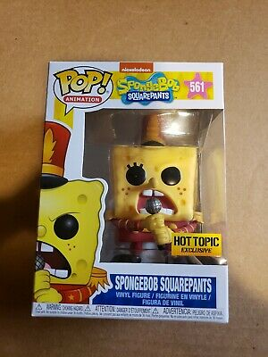 Funko Pop Spongebob squarepants band leader Nickelodeon Hot Topic exclusive