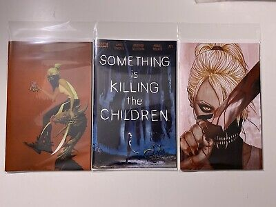 Something is Killing the Children 1 NM  A B C variant cover lot Frison Boom 1st