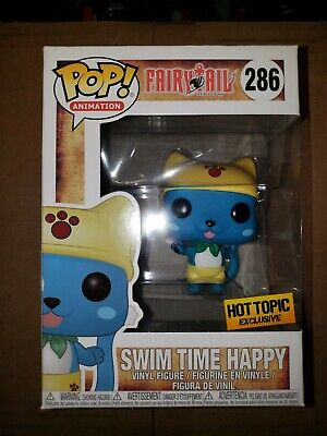 Funko Pop Swim Time Happy Fairytail Hot Topic exclusive