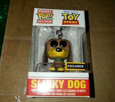 Funko Pop Slinky Dog Toy Story keychain Hot Topic exclusive