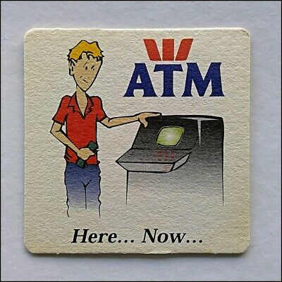 Westpac ATM Here... Now... Coaster (B366)