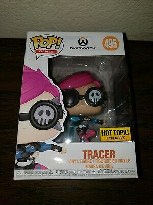 Funko Pop Tracer Punk overwatch Hot Topic exclusive