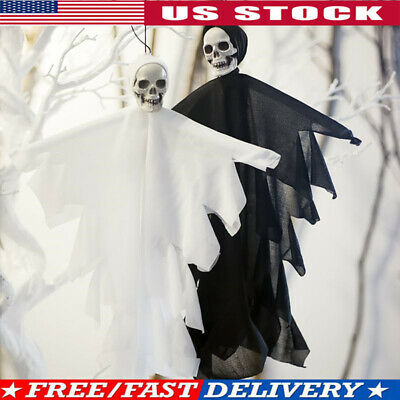 Halloween Skull Skeleton Ghost Hang Decor Scary Ghos Party Haunted House Decor
