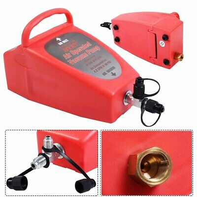 Pneumatic 4.2 CFM Air Operated Vacuum Pump A/C Air Conditioning System Tool Auto