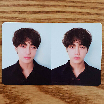 V Official Photocard BTS Love Yourself Tear R
