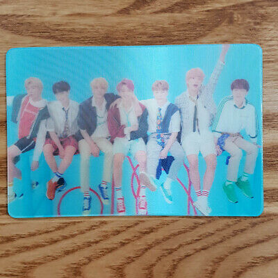 Special Lenticular Official Photocard BTS Love Yourself Answer