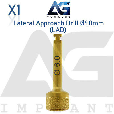 Lateral Approach Drill Sinus Lift Ø6.0mm Instrument Surgical Dental Implant