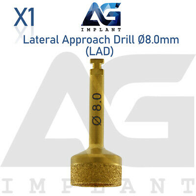 Lateral Approach Drill Sinus Lift Ø8.0mm Instrument Surgical Dental Implant