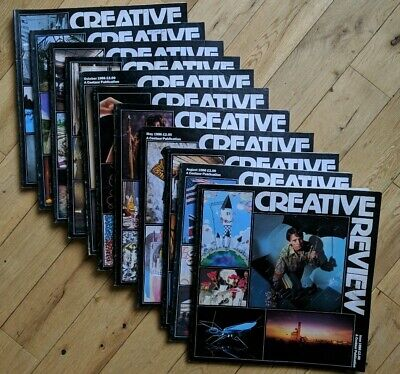 CREATIVE REVIEW Magazine All 12 issues from 1986 - Good condition!