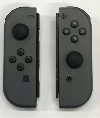 Nintendo Switch Gray Joy-Con Left & Right Controllers
