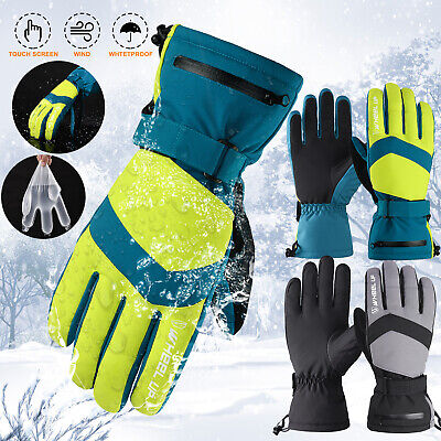Winter Polar Fleece Soft Warm Gloves Mens Camping Cycling Walking Outdoor Travel