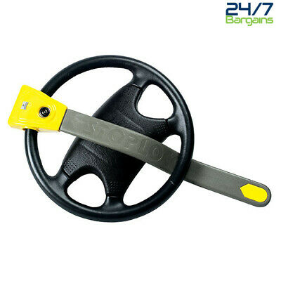 Stoplock Original Steering Wheel Immobiliser Anti Theft Lock Security