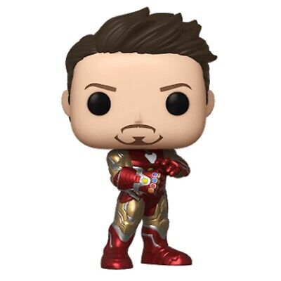Funko Pop Avengers Endgame Iron Man w Gauntlet NYCC 2019 Shared Excl-SHIPS ASAP!