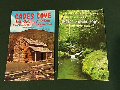 Vintage Brochure CADES COVE Tour Book GREAT SMOKY MOUNTAINS NATIONAL PARK 1971