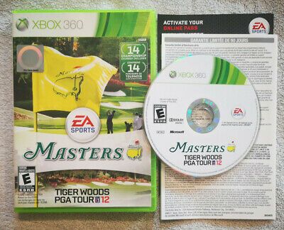 The Masters Tiger Woods PGA Tour 12 • Microsoft Xbox 360