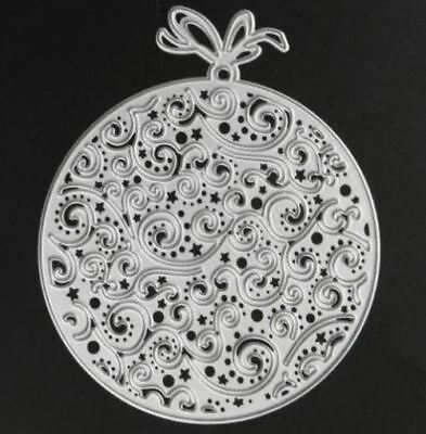 Lace Bauble metal die - for use in most cutting systems!