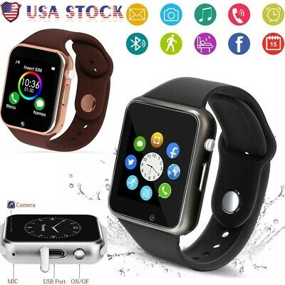 G Waterproof Bluetooth Smart Watch Phone Mate For iphone IOS Android LG Samsung