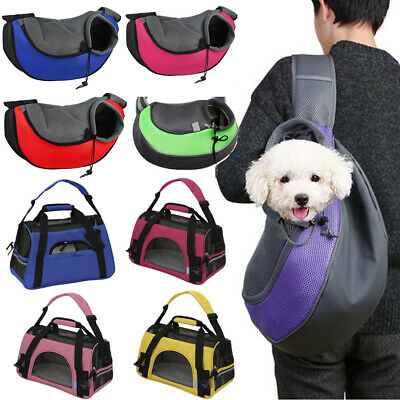 Pet Carrier Soft Sided Cat Dog Puppy Comfort Travel Tote Bag Airline Approved
