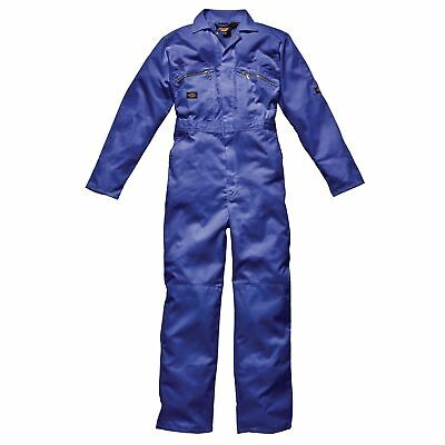 Dickies Redhawk Zip Front Coverall Regular Length Royal Blue Size 50