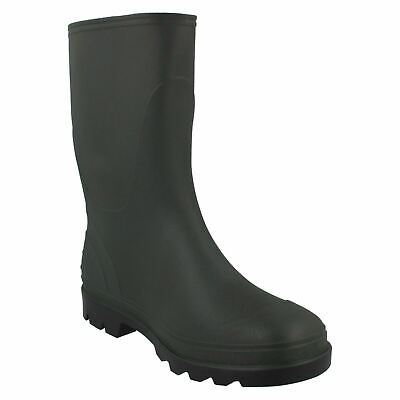 MENS LADIES WELLIES WELLINGTON WATERPROOF BOOTS SIZE 4-11 PVC LINED FULLY FREE P