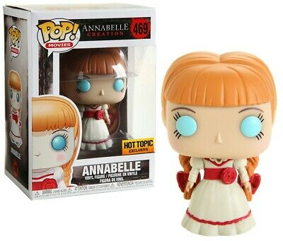 Funko Pop! Annabelle #469 Annabelle Creation Hot Topic Exclusive Limited Rare