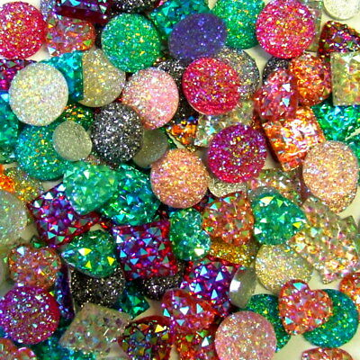 Stunning Crystal Dazzlers Gems Assorted Clolours & Shapes Your Choice New