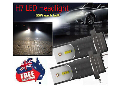 6000K Car LED Headlights Kit H7 110W 30000Lm Conversion Globes Canbus Bulbs Lamp