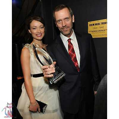 Olivia Wilde Hugh Laurie Photo Poster Canvas Coffee Cup #B6765