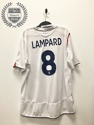 Frank Lampard England 2005/2007 home football shirt Men's XL Extra Large