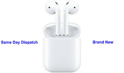 New Apple AirPods 2nd Generation White With Charging Case Bluetooth 2019