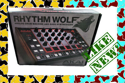 Akai Rhythm Wolf - Analog Drum Machine MINT With Box