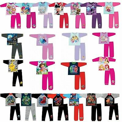 DISNEY Girls & Boys Character Pyjamas Kids, Toddler, 6 Months - 12 Years