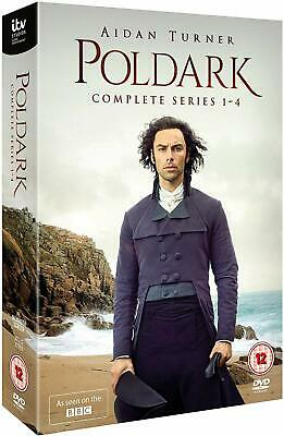 Poldark Season 1-4 DVD New & Sealed Complete series 1 2 3 4 Region 2 UK