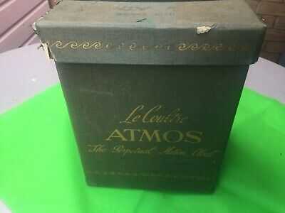 Jaeger Lecoultre Atmos Clock Box For Model 526-5, Baby Atmos