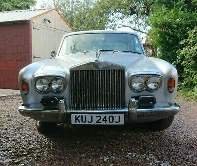 1970 Rolls Royce Silver Shadow Good Condition Extensive History Drive Away