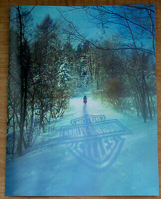 Harley Davidson Official Christmas & Harley New Year Cards Open Box of 15