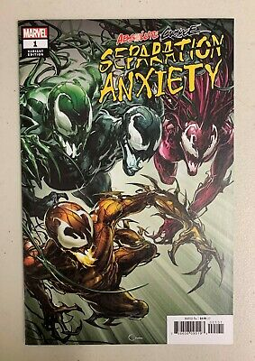 Absolute Carnage Separation Anxiety #1 (2019) Clayton Crain Variant (1:50) (9.0)