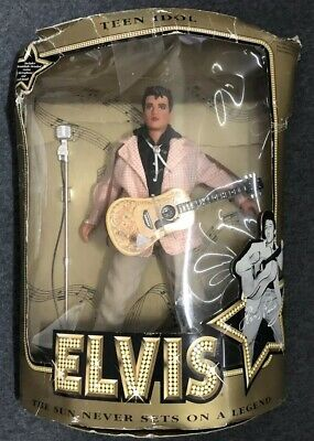 "1993 Elvis Presley TEEN IDOL Doll 12"" The Sun Never Sets on a Legend"