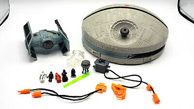 Star Wars Micro Machines Action Fleet DEATH STAR Playset 1995 near complete