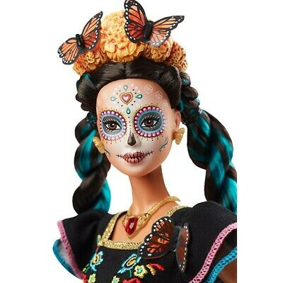 Barbie Dia De Muertos Doll (Day of The Dead) 2019 READY to SHIP