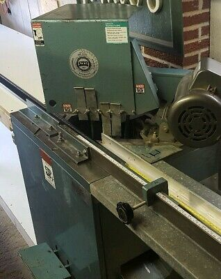 """CTD WOODWORKING FRAMING COMMERCIAL FIXED HEAD 10"""" SAW 220. Excellent condition"""