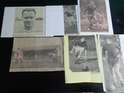 BIRMINGHAM CITY PLAYER ENGLAND GIL MERRICK 1950s   signed POST FREE  (B)