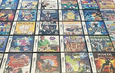 Assorted Nintendo DS/3DS Video Game Titles. Some Used, Some New ***YOU CHOOSE***